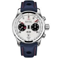 Bremont JAGUAR MKII White Dial Strap Watch BJ-II/BK