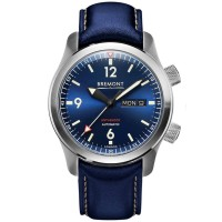 Bremont U-2 Stainless Steel Blue Strap Watch U-2/BL
