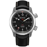 Bremont MARTIN-BAKER II Green Tone Black Dial Strap Watch MBII-BK/GN