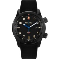 Bremont U-2 Black Jet Pilot Watch U2/51-JET