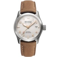 Bremont SOLO Brown Leather Watch SOLO/37/SI-RG