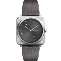 Bell & Ross Ladies Instruments Grey Diamond Eagle Watch BRS-ERU-ST/SCA