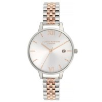 Olivia Burton Demi Date Two Colour Bracelet Watch OB16DE06