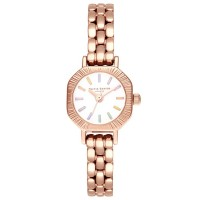 Olivia Burton Rainbow White Mini Dial Rose Gold Bracelet Watch OB16CC50