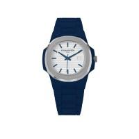 KAMAWATCH Limited Edition Fix Navy Blue Plastic Bracelet Watch KWPF32
