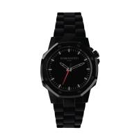KAMAWATCH Limited Edition Fix Space Black Plastic Bracelet Watch KWPF31