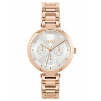 HUGO #Hope Rose Gold Tone Bracelet Watch 1540087