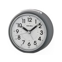 Seiko Clocks Grey Beep Alarm Clock QHE125N