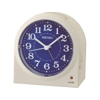 Seiko Clocks Blue Beep Alarm Clock QHE179W