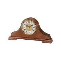 Seiko Clocks Brown Oak Wooden Mantel Clock QXJ013B