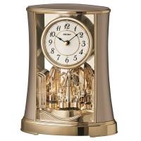 Seiko Clocks Gold Anniversary Mantel Clock QXN227G