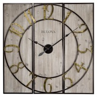 "Bulova Vermont Country 44"" Wall Clock C4113"