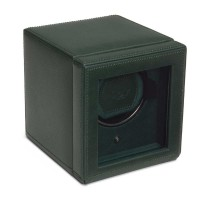WOLF Cub With Cover Green Watch Winder 461141
