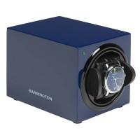 BARRINGTON Mens Midnight Blue Single Watch Winder WW-BLUE (S1031BLC-C2)
