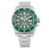 Pre-Owned Rolex Mens Submariner HULK Automatic Watch 116610LV