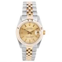 Pre-Owned Rolex Ladies Datejust Two Tone Bracelet Watch 68273BQ32403
