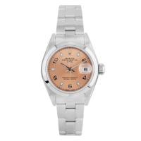 Pre-Owned Rolex Ladies Datejust Pink Dial Watch 7916011417