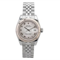 Pre-Owned Rolex Ladies Datejust Year 2001 Watch 179174