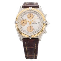 Pre-Owned Breitling Chronomat Leather Strap Watch S605261484
