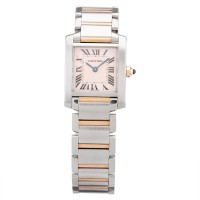 Pre-Owned Cartier Ladies Tank Francaise Two Tone Bracelet Watch