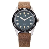 Pre-Owned Oris Divers 65 Automatic Leather Strap Watch 733 7720 405707 5LS