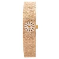 Pre-Owned Ladies Bark Effect Shield Watch D502618426