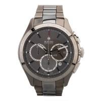Pre-Owned Rado Hyperchrome Grey Ceramic Bracelet Watch 01.650.0024.3.010