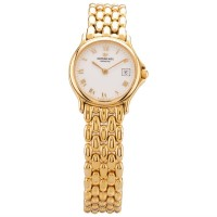 Pre-Owned Raymond Weil Ladies Gold Plated Bracelet Watch 5568