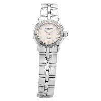 Pre-Owned Raymond Weil Ladies Parsifal Diamond Silver Bracelet Watch 9641-ST-97081