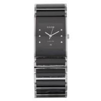 Pre-Owned Rado Mens Ceramic Diamond Set Bracelet Watch C0512360480