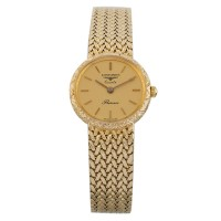 Pre-Owned Longines 9ct Gold Presence Woven Bracelet Watch L478851481