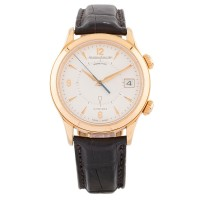 Pre-Owned Jaeger-LeCoultre Automatic Leather Strap Watch 721020