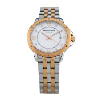 Pre-Owned Raymond Weil Two Tone Bracelet Watch 4894410510