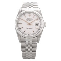 Pre-Owned Rolex Mens Oyster Perpetual Datejust Watch 16220