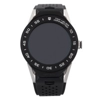 Pre-Owned TAG Heuer Connected Mens Black Rubber Strap Watch EX 2460557