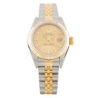 Pre-Owned Rolex Ladies Datejust Automatic Two Tone Bracelet Watch 69173
