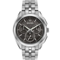 Bulova Mens Curv Chronograph Watch 96A186