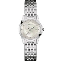 Bulova Ladies Classic Diamond Bracelet Watch 96S160