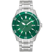 Bulova Mens Classic Sport Bracelet Watch 98B359