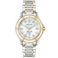 Bulova Ladies Marine Star Bracelet Watch 98P186