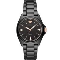 Emporio Armani Ladies Nicola Ceramica Watch AR70003