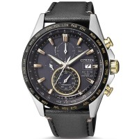 Citizen Mens World Time Titanium Chrono AT Watch AT8158-14H
