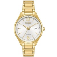 Citizen Ladies Eco Drive Silhouette Crystal Watch FE6102-53A