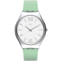Swatch Ladies Skin Aloe Strap Watch SYXS125