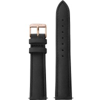 Cluse La Boheme Black Leather Watch Strap CLS001