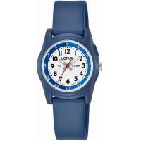 Lorus Childrens Blue Rubber Strap Watch R2355NX9