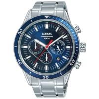 Lorus Mens Sports Chronograph Bracelet Watch RT303HX9