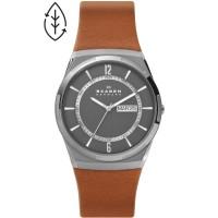 Skagen Mens Melbye Medium Brown Eco Leather Watch SKW6786