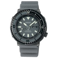 Seiko Mens Prospex Street Series Tuna Automatic Grey Rubber Strap Watch SRPE31K1