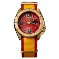 Seiko 5 Sports Limited Edition Street Fighter ZANGIEF Iron Cyclone Watch SRPF24K1